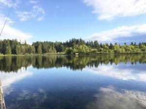 Photo of Deep Lake at Millersylvania State Park in Washington