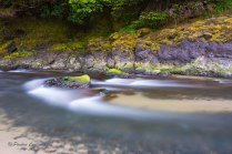 Photo of Cape Creek at Heceta Head State Scenic Viewpoint taken with a X4 10 stop neutral density filter