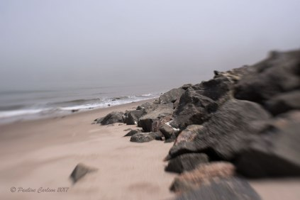 Photo of Sunset Beach in the fog taken with a Lensbaby Composer Pro with the Sweet 35 optic.