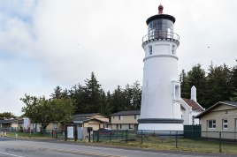 Photo of Umpqua light house on the South Oregon Coast