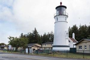 Photo of Umpqua light house on the South Oregon Coast