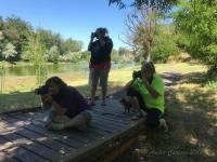 Photographers taking pics of kids