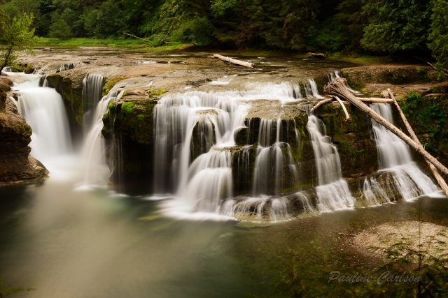 Photo of Lower Lewis River Falls in Washington