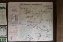 Photo of national forest map