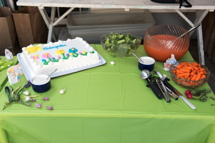 Photo of Peter Rabbit party table